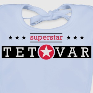 Superstar TETOVAR Kids' Shirts - Baby Organic Bib
