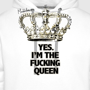 The Queen T-Shirts - Men's Premium Hoodie