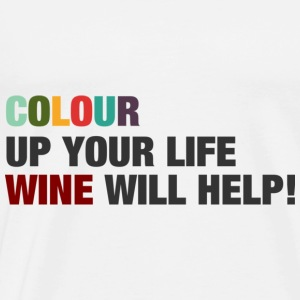 Colour up your life - Männer Premium T-Shirt