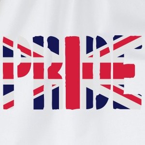 Pride Great Britain flag, brittiska flaggan, Union - Gymnastikpåse