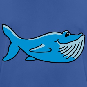 Cute whale Hoodies & Sweatshirts - Men's Breathable T-Shirt