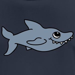 Cute shark Hoodies & Sweatshirts - Men's Breathable T-Shirt