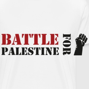 Battle For Palestine Tasses - T-shirt Premium Homme