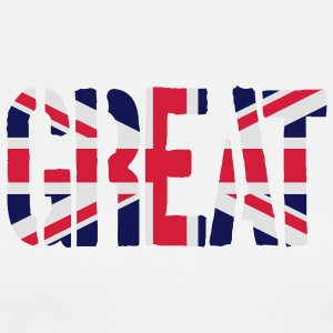 Great Britain Flag, British Flag, Union Jack, UK F - Men's Premium T-Shirt