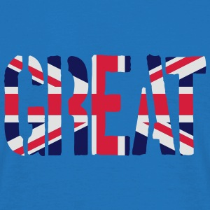 Great Britain Flag, British Flag, Union Jack, UK F - Men's T-Shirt