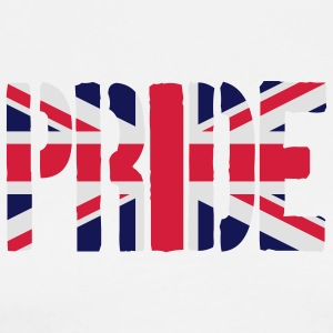 PRIDE Britain Flag, British Flag, Union Jack, UK F - Men's Premium T-Shirt