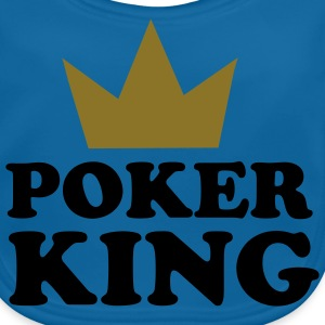 Poker king Kinder T-Shirts - Baby Bio-Lätzchen