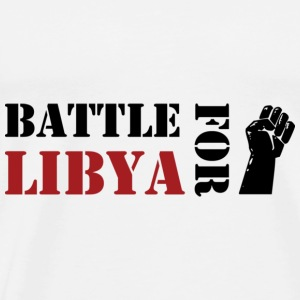 Battle for Libya Shirts - Mannen Premium T-shirt