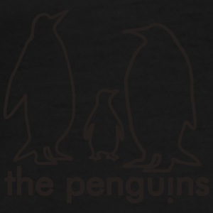 Black penguins Bags  - Men's Premium T-Shirt