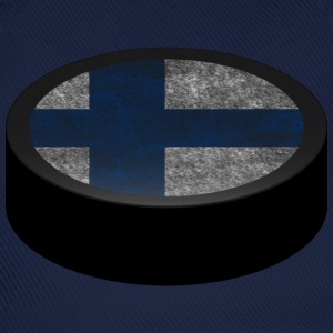 Hockey Puck (Finland) Men's T-shirts - Czapka z daszkiem