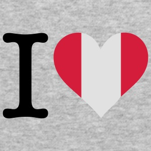 I Love Peru (3c) Hoodies & Sweatshirts - Men's Slim Fit T-Shirt