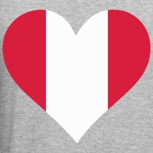 Heart Peru (dd) Gensere - Slim Fit T-skjorte for menn