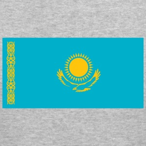 National Flag of Kazakhstan Hoodies & Sweatshirts - Men's Slim Fit T-Shirt