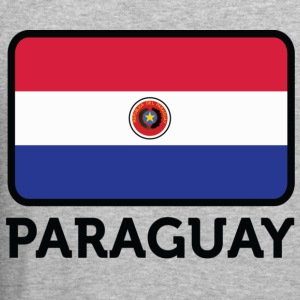 Flag Paraguay 2 (dd) Sweaters - slim fit T-shirt