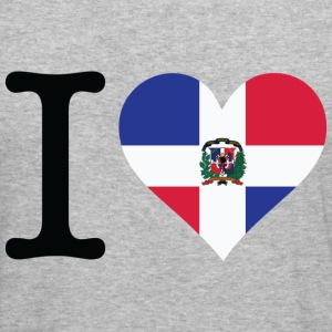 I Love Dominican Republic (dd) Sweatshirts - Herre Slim Fit T-Shirt