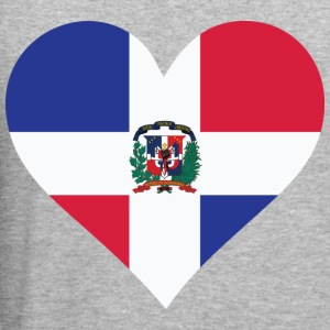 Heart Dominican Republic (dd) Tröjor - Slim Fit T-shirt herr