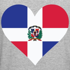 Heart Dominican Republic (dd) Sweatshirts - Herre Slim Fit T-Shirt