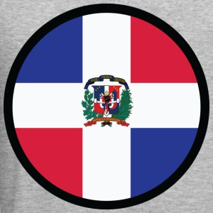 Circle Dominican Republic (dd) Sweatshirts - Herre Slim Fit T-Shirt