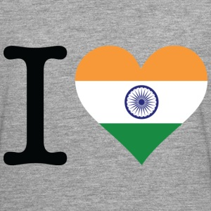 I Love India (dd) Gensere - Premium langermet T-skjorte for menn