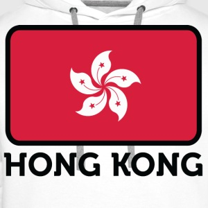 Flag Hong Kong 2 (dd) Kids' Shirts - Men's Premium Hoodie
