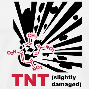 TNT - Explosion Mugs  - Men's Premium T-Shirt
