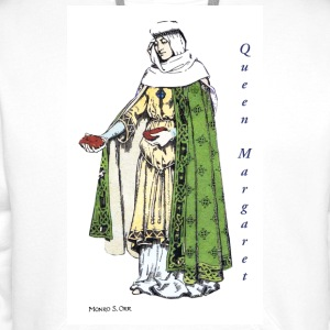 Queen Margaret feeds the poor - Men's Premium Hoodie