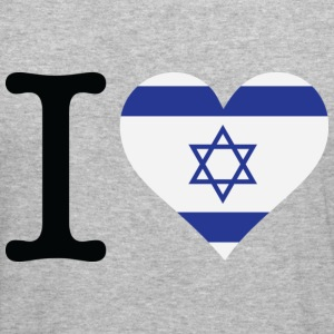 I Love Israel (dd) Tröjor - Slim Fit T-shirt herr