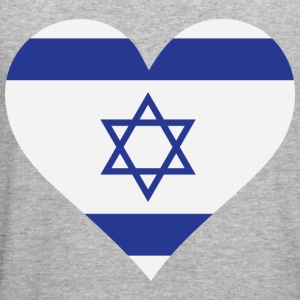Heart Israel (dd) Tröjor - Slim Fit T-shirt herr