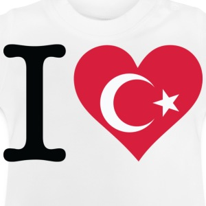 I Love Turkey (dd) Kinder T-Shirts - Baby T-Shirt