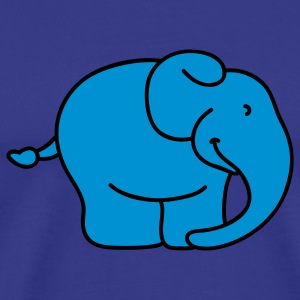 Little blue Elephant Kids' Tops - Men's Premium T-Shirt