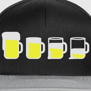beer_drinking_2c T-Shirts - Snapback Cap