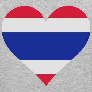 Heart Thailand (3c) Tröjor - Slim Fit T-shirt herr