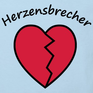 Herzensbrecher - Kinder Bio-T-Shirt