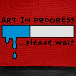 Art in Progress - Loading, please wait Tabliers - Casquette snapback