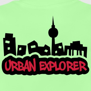 Urban Explorer - 2colors - back - Baby T-shirt