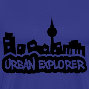 Urban Explorer - glow in the dark - Maglietta Premium da uomo