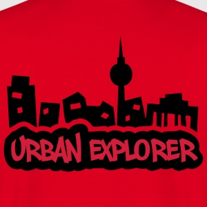 Urban Explorer - 2colors - back - T-shirt Homme