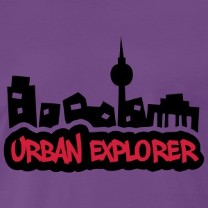 Urban Explorer - 2colors - 2011 Tröjor - Premium-T-shirt herr