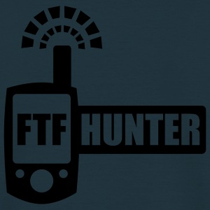 FTFHunter - glow in the dark - back - Men's T-Shirt