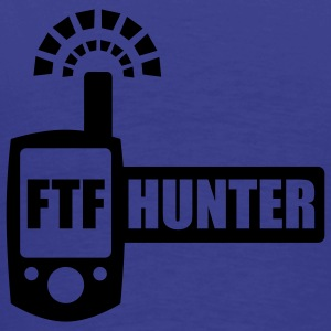 FTFHunter - glow in the dark - back - T-shirt Premium Homme