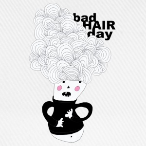 bad hair day T-Shirts - Baseballkappe