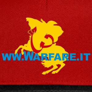 www.warfare.it art of war - Snapback Cap