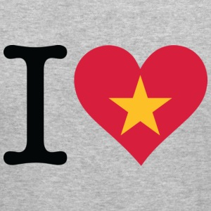 I Love Vietnam (dd) Sweatshirts - Herre Slim Fit T-Shirt