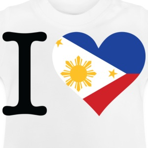 I Love Philippines (dd) Camisetas niños - Camiseta bebé