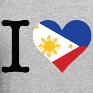 I Love Philippines (dd) Pullover - Männer Slim Fit T-Shirt