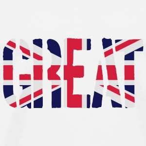 Gay Great Britain Flag, Pink britiske flagg, Pink  - Premium T-skjorte for menn