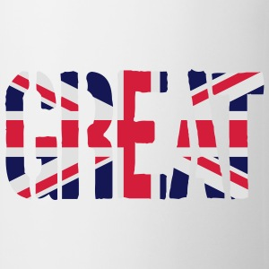 Great Britain Flagg, britisk flagg, Union Jack, UK - Kopp