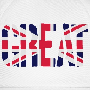 Great Britain flag, brittiska flaggan, Union Jack, - Basebollkeps