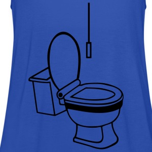 Toilette Kinder T-Shirts - Frauen Tank Top von Bella