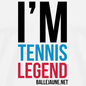 im-tennis-legend-block Tasses - T-shirt Premium Homme